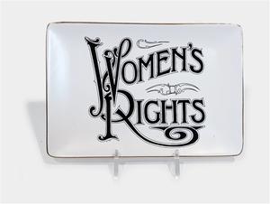 Women's Rights Tray